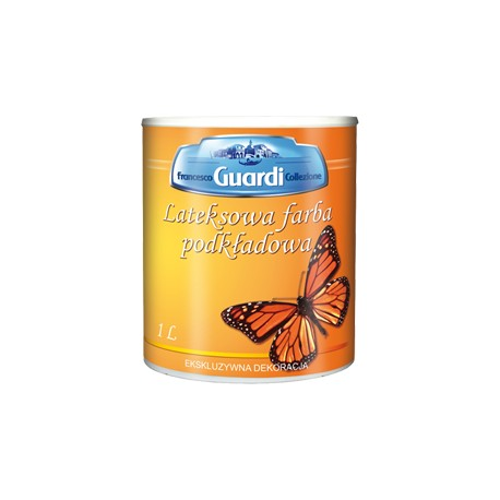 Lateksowa farba podkładowa - GUARDI 1L