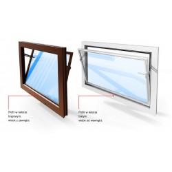 ACO Kipp® – okna do pomieszczeń niemieszkalnych PVC szyba z pojedynczego szkła