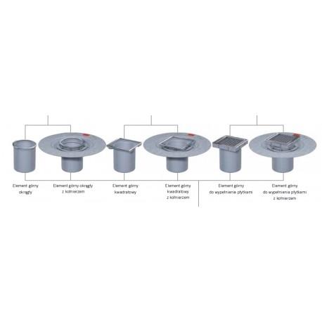 ACO Easyflow (wpusty łazienkowe) - elementy górne