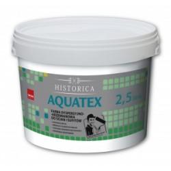 AQUATEX 2,5L Farba dyspersyjno -krzemianowa do ścian i sufitów