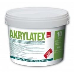 AKRYLATEX 5L Dyspersyjna, akrylowa farba do malowania elementów betonowych i cokołów