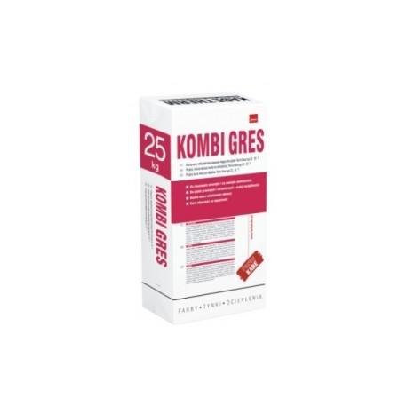 KOMBI GRES 25KG Elastyczna, odkształcalna zaprawa klejąca do płytek typ C2 S1 T