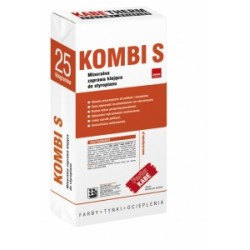 KOMBI S 25KG Mineralna zaprawa klejąca do styropianu