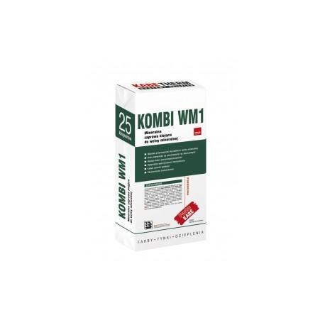 KOMBI WM1 25KG Mineralna zaprawa klejąca do wełny mineralnej