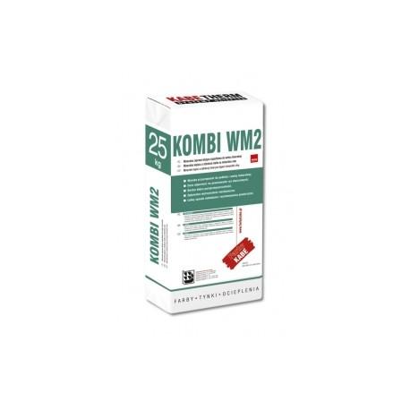 KOMBI WM2 25 KG Mineralna zaprawa klejąco-szpachlowa do wełny mineralnej
