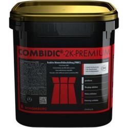 COMBIDIC-2K-PREMIUM  Reaktywna, 2-składnikowa bitumiczna powłoka grubowarstwowa